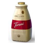 TORANI特朗尼 美國進口果露糖漿【白巧克力醬】64oz(2.5kg)/罐