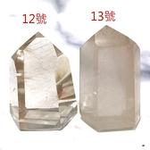 『晶鑽水晶』天然髮晶柱子 亮度乾淨度超高 招財 加強自信心、果斷力 10~14