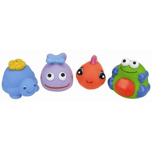 K's Kids 奇智奇思-動物造型洗澡玩具組(4入組)[衛立兒生活館]