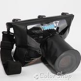 單反相機防水袋防沙罩塵套浮潛水佳能77D 80D 6D尼康D7100 D3300  color shop