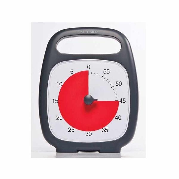 Time Timer PLUS 手提式計時器 60 Minute Desk Visual Timer [2美國直購]
