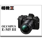 Olympus E-M5 Mark III Kit組 黑色〔含 14-150mm II〕平行輸入