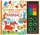 Rubber Stamp Activities Animals 印章玩樂遊戲書:動物篇