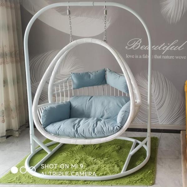 吊籃藤椅懶人椅室內吊床家用吊蘭搖椅陽臺秋千搖籃椅庭院雙人吊椅