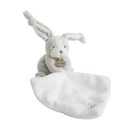 GMPBABY 法國娃娃Doudou灰白兔手巾布偶12cm