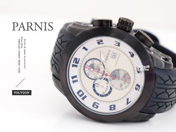 【完全計時】手錶館│PARNIS 瑞典軍錶風格 精緻簡潔 石英計時錶 PA3047 NG出清