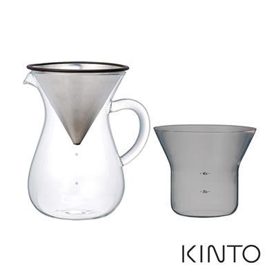日本KINTO SCS手沖咖啡壺組600ml《WUZ屋子》