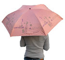 《真心良品》2293_1_1三折碳纖小熊星星印刷傘