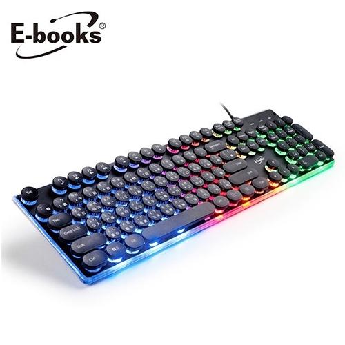 【E-books】Z6 炫光靜音有線鍵盤