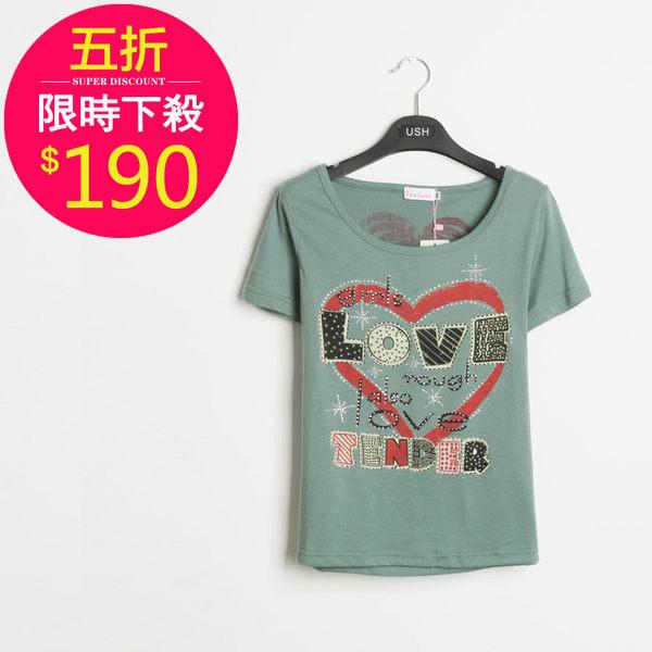 T恤【9514】FEELNET中大尺碼女裝夏裝卡通百搭上衣38-40碼