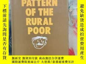 二手書博民逛書店SURVIVAL罕見PATTERN OF THE RURAL POOR(農村貧困人口的生存模式)Y204047