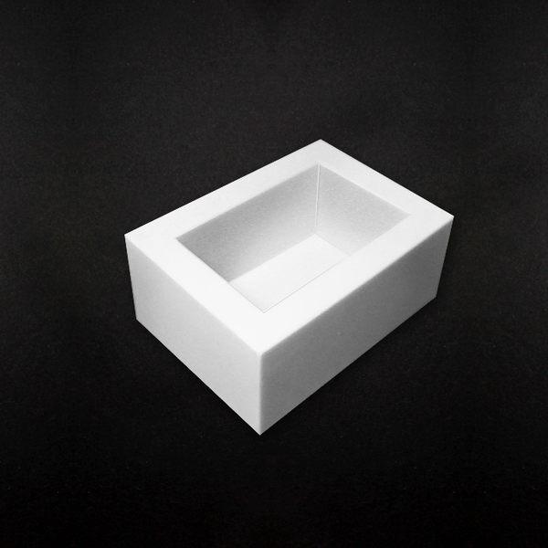 【香草工房】 550cc白色矽膠模 -1