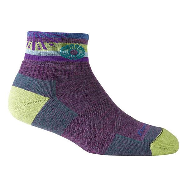 [DARN TOUGH] Daphne 1/4 Sock Cushion 休閒短襪 女 Wisteria (DT1915-WI)