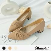 跟鞋 扭結尖頭氣質跟鞋 MA女鞋 T72102