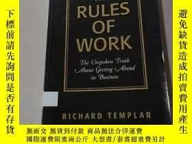 二手書博民逛書店THE罕見RULES OF WORK:工作規則(外文)Y212829