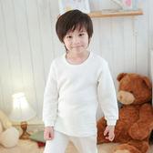 Anny pepe 男童舒暖棉夾棉長袖 白色 (90~150cm)