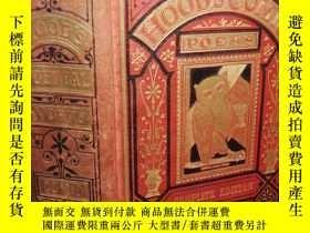 二手書博民逛書店1882年簽名罕見THE COMIC POEMS OF THOM