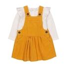 mothercare 黃洋裝+白長T套裝...