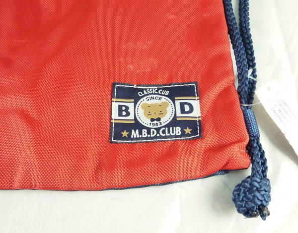 【震撼精品百貨】M.B.D.CLUB_泰迪熊 ~ 防水束口杯袋『紅藍』