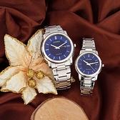 CITIZEN 星辰 光動能城市情侶手錶 對錶-42+33mm AW1211-80L+FE6011-81L