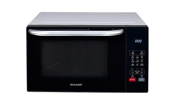 SHARP 夏普  R-T25KG (W) 25L 燒烤微波爐  混和烹調、解凍、加熱、全程燒烤、輕鬆設定