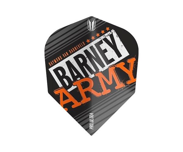 【TARGET】VISION ULTRA BARNEY ARMY TEN- x  Black 334360 鏢翼 DARTS