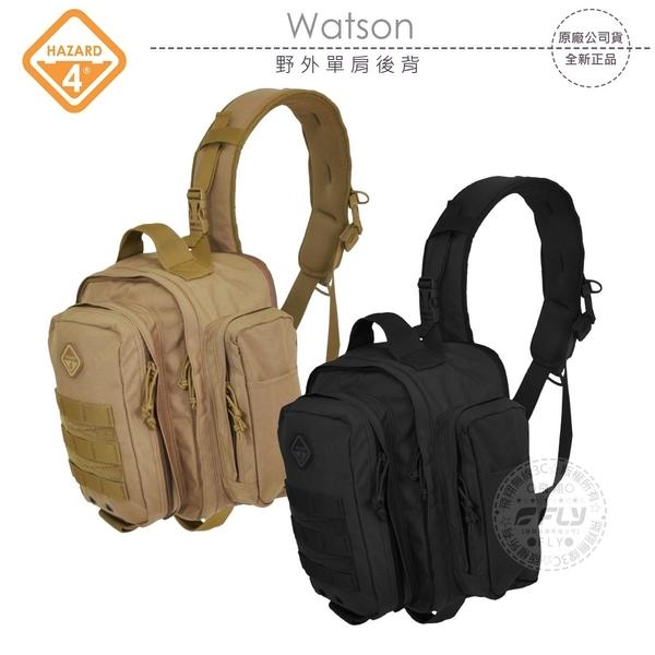 《飛翔無線3C》HAZARD 4 Watson 野外單肩後背包│公司貨│登山露營包 戶外旅遊包 戰鬥生存包