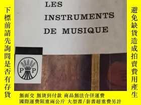 二手書博民逛書店LES罕見INSTRUMENTS DE MUSIQUEY21714 出版1957