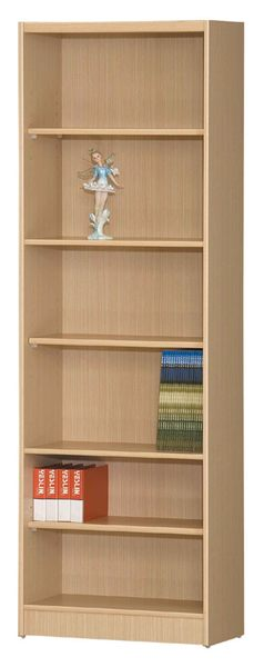【IS空間美學】B-01白橡開放式收納書櫃