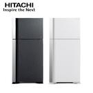 [HITACHI 日立家電]570公升 雙門變頻冰箱-琉璃白/琉璃灰 RG599B