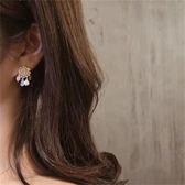 耳環68238#S925銀針手工貼鉆耳釘珍珠水晶流蘇民族風耳環波西米亞串珠GDB507快時尚