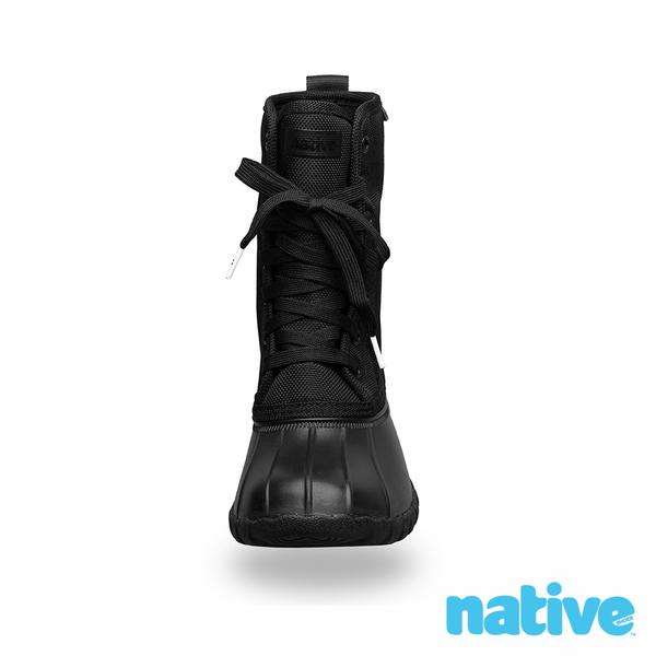 native JIMMY CITYLITE 獵鴨男/女靴-時尚黑