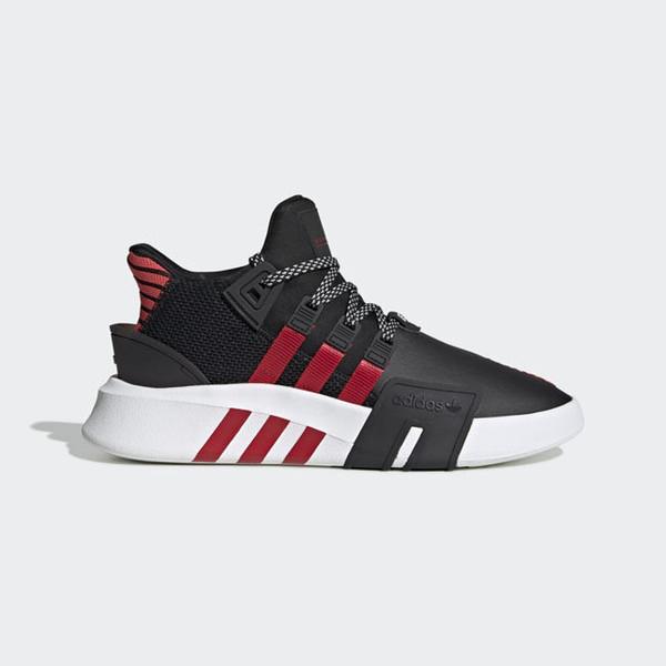 Adidas Original Eqt Bask Adv [FW4249] 男鞋 運動 休閒 籃球 襪套 愛迪達 黑紅