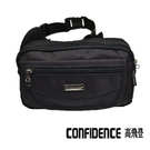 運動腰包 中 Confidence 高飛登 2291 神秘黑(福利品)
