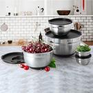 Kirkland Signature 科克蘭不鏽鋼含蓋調理碗十件組 黑
