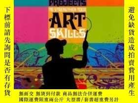 二手書博民逛書店200罕見Projects To Strengthen Your Art Skills-200個項目加強你的藝術技