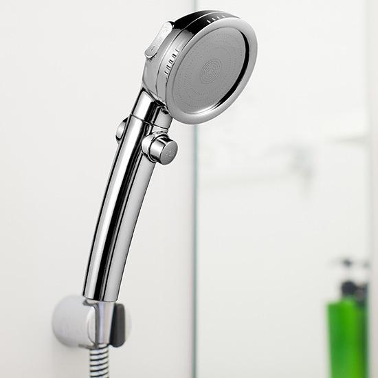 花灑 噴頭 手持 蓮蓬頭 止水 加壓 節水 淋浴浴室 通用 止水開關 增壓蓮蓬頭【Q097】慢思行