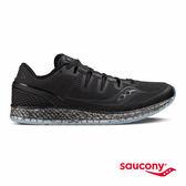 SAUCONY FREEDOM ISO 緩衝避震專業訓練鞋款-黑