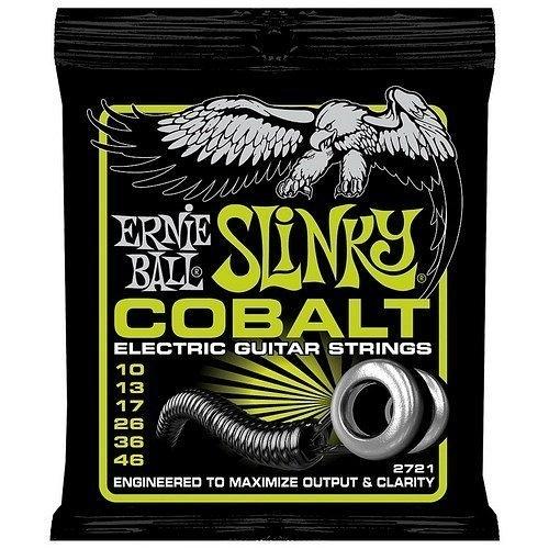☆ 唐尼樂器︵☆美國原裝 Ernie Ball 2721 COBALT SLINKY (10-46) 電吉他鈷弦
