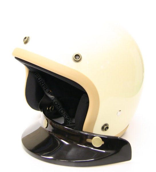 林森●GP-5安全帽,半罩安全帽,3/4帽,復古帽,小帽體,D303,象牙白/卡其