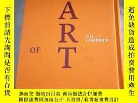 二手書博民逛書店藝術的故事The罕見Story of Art, Luxury Edition Hardcover豪華布面精裝版