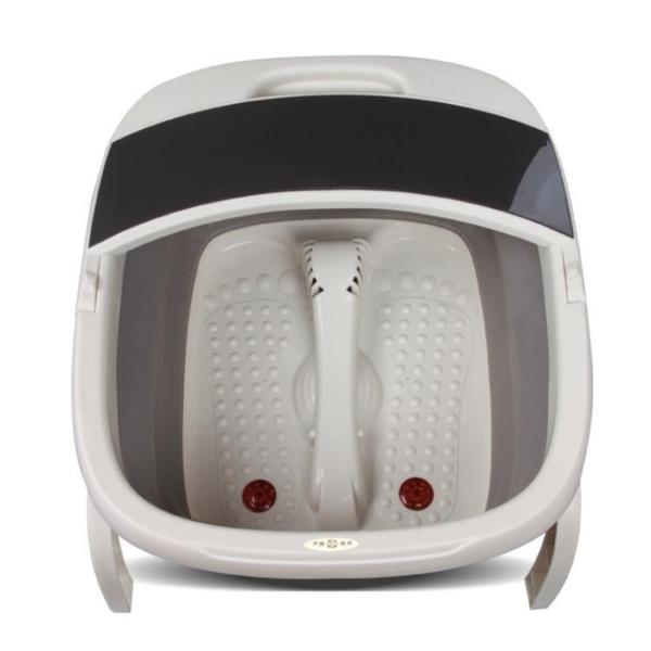 可摺疊足浴盆器自動按摩洗腳盆電動加熱恒溫家用泡腳桶便攜WY 淇朵市集