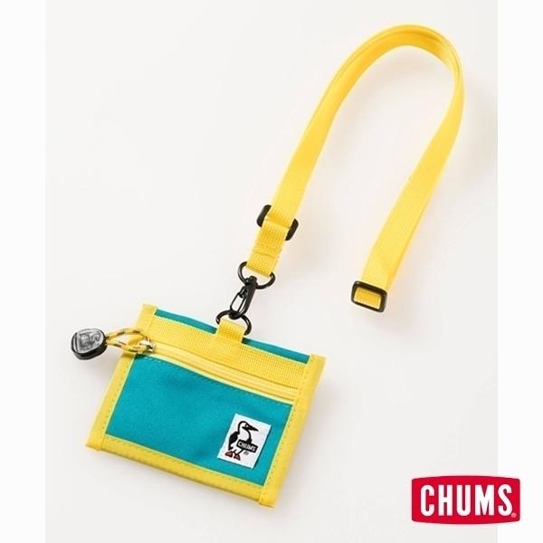 CHUMS Eco ID Card Holder 證件帶 綠松石 CH602488A057【GO WILD】