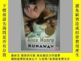 二手書博民逛書店愛麗絲·門羅罕見Alice Munro:Runaway (加拿大