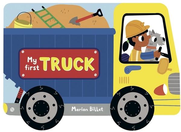 My First Truck 開卡車蓋遊樂場 輪子轉轉硬頁書