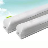 【AJ355】LED T8 感應燈管1尺6W (0.3米) 1呎 雷達燈管 感應燈泡 含底座★EZGO商城★