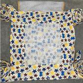 傳統四爪系帶型透氣夏季綁帶款嬰兒背帶yhs1543【123休閒館】