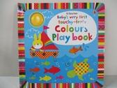【書寶二手書T1/少年童書_EFI】Baby's Very First Touchy-Feely Colours Play Book