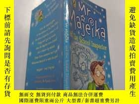 二手書博民逛書店mr罕見majeika and the school inspector :majeika先生和學校督察Y21