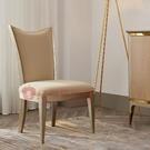 [紅蘋果傢俱] 美式 後現代 輕奢 ML6728C餐椅 單椅 椅 休閒椅 椅子 躺椅 餐廳 飯廳